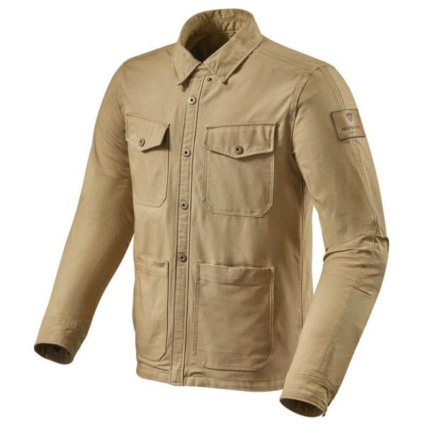 Blouson moto Rev it Worker surchemise sable