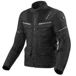Giacca moto Rev it Offtrack nero, Giubbotti e Giacche Tessuto Moto