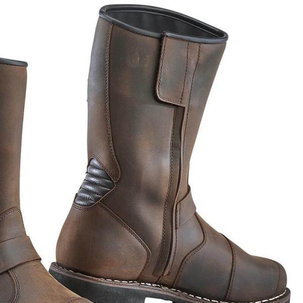 Motorcycle boots TCX Fuel waterproof brown