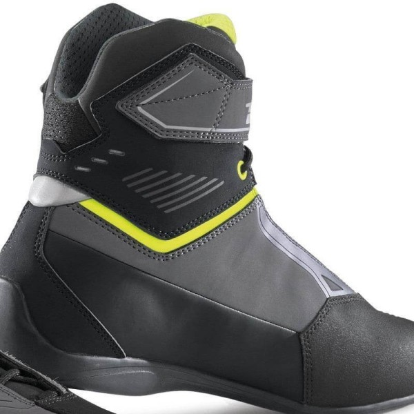 Motorradschuhe TCX Rush 2 waterproof grau gelb