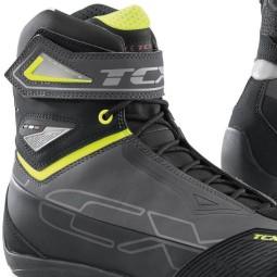 Chaussures moto TCX Rush 2 waterproof gris jaune