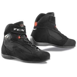 Motorradschuhe TCX Pulse schwarz, Motorrad Touring Stiefel