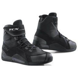 Scarpe moto TCX District waterproof nero, Scarpe Moto Urban