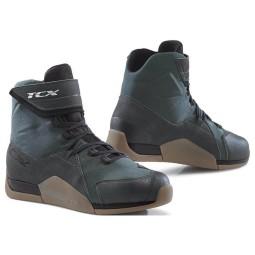 Motorcycle shoes TCX District waterproof gunmetal ,Motorcycle Shoes Urban
