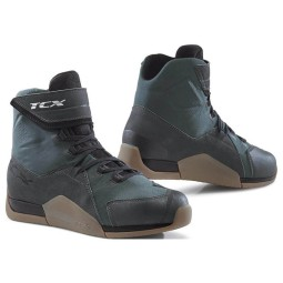 Zapatos moto TCX District waterproof gunmetal