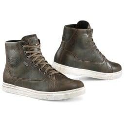 Zapatos moto TCX Mood Gore-Tex marron