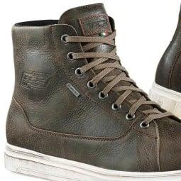 Zapatos moto TCX Mood Gore-Tex marron, Zapatos Motos Urban