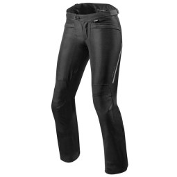 Motorcycle Pants REVIT Factor 4 Ladies Black, Motorcycle trousers