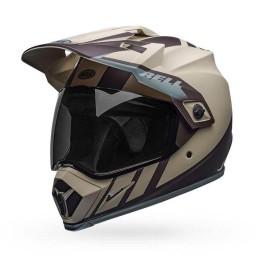 Casco Moto Off Road Bell Helmets MX-9 Adventure Mips Dash Sand, Cascos Enduro
