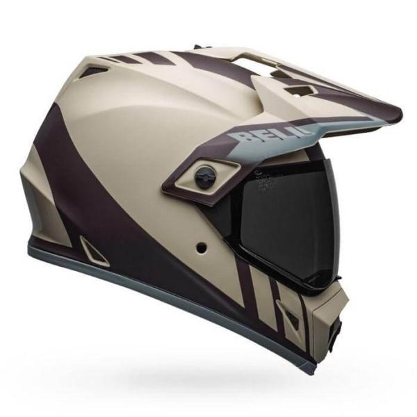 Motorradhelm Bell MX-9 Adventure Mips Dash Sand