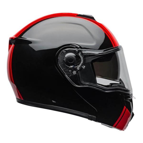 Modularer Helm Bell SRT Ribbon schwarz rot