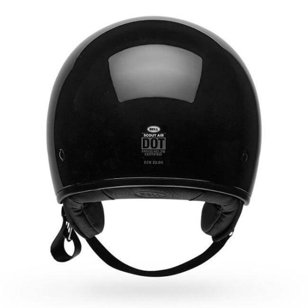 Casco moto Jet Bell Helmets Scout Air gloss black