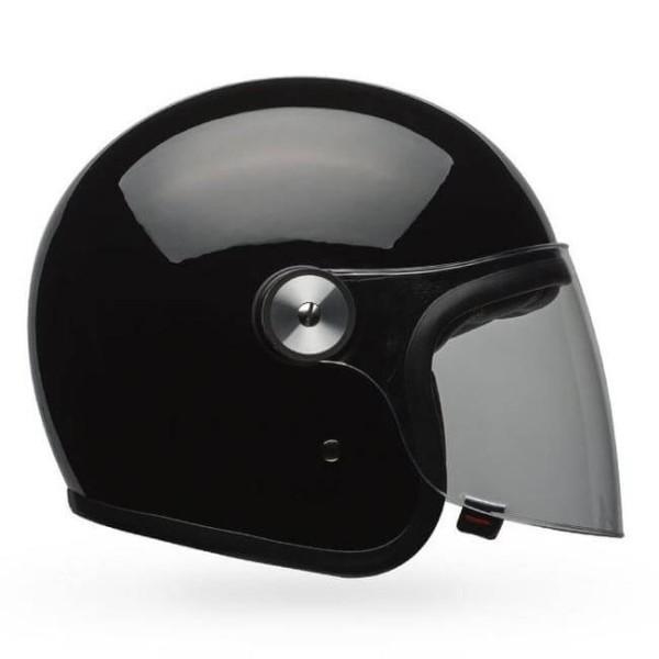 Jet Helm Bell Helmets Riot gloss black