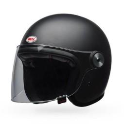 Casco moto Jet Bell Helmets Riot matte black, Cascos Jet