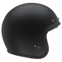 Motorcycle Helmet Vintage BELL HELMETS Custom 500 Matt Black ,Jet Helmets