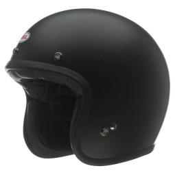 Motorrad Helm Vintage BELL HELMETS Custom 500 Matt Black ,Jet Helme