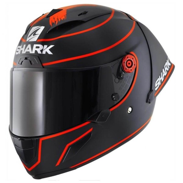 Shark Race-R PRO GP Motorradhelm Lorenzo winter test