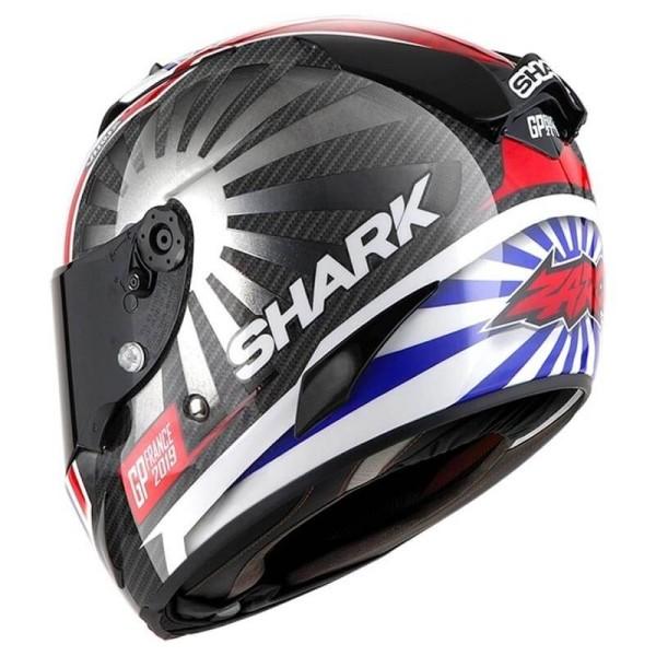 Casco de moto Shark RACE-R PRO Carbon Zarco GP France 2019