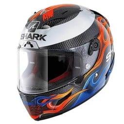 Shark Race-R PRO Carbon Motorradhelm Lorenzo Catalunya GP 2019, Integralhelme