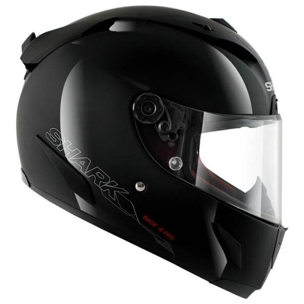Casco de moto Shark RACE-R PRO Blank negro