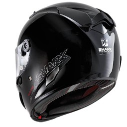 Shark RACE-R PRO Blank motorcycle helmet black, Full Face Helmets