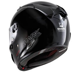 Shark Race-R PRO Blank Motorradhelm schwarz