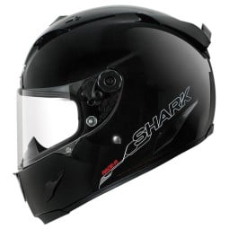 Casco Shark RACE-R PRO Blank nero, Caschi Integrali