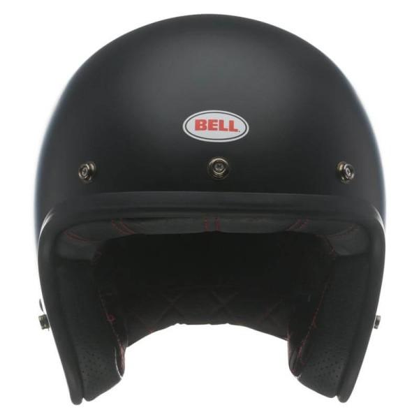 Motorrad Helm Vintage BELL HELMETS Custom 500 Matt Black