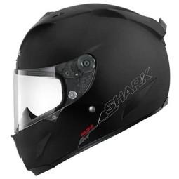 Shark Race-R PRO Blank Motorradhelm schwarz mat, Integralhelme