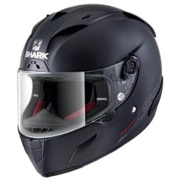 Shark RACE-R PRO Blank motorcycle helmet mat black, Full Face Helmets