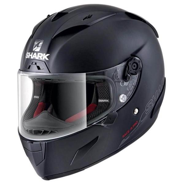 Shark RACE-R PRO Blank motorcycle helmet mat black