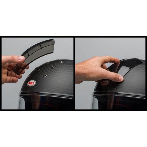 Cubierta de ventilación Bell Eliminator Vent Rain Cover Dark Smoke