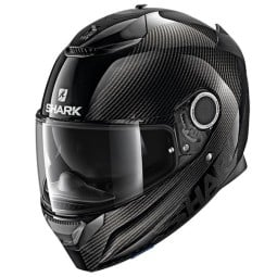 Shark Spartan Carbon Skin black motorcycle helmet