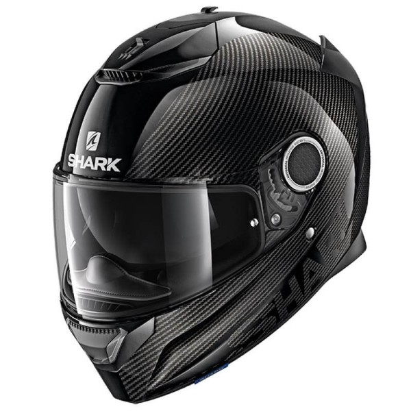 Casco de moto Shark Spartan Carbon Skin black