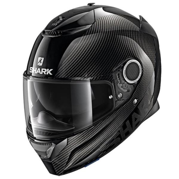 Shark Spartan Carbon Skin black motorcycle helmet