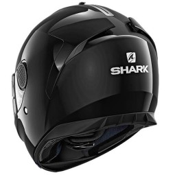 Shark Spartan Blank black motorcycle helmet, Full Face Helmets