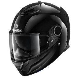 Casco de moto Shark Spartan Blank black, Cascos Integrales