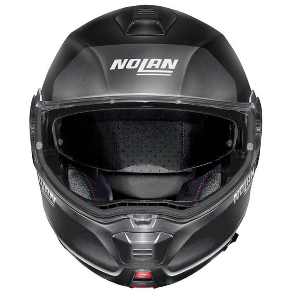 Casco moto modular Nolan N100-5 Plus flat black