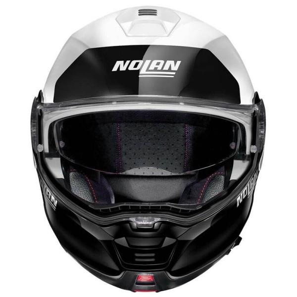 Casco moto modular Nolan N100-5 Plus blanco