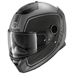 Shark Spartan Priona anthracite black motorcycle helmet ,Helmets Full Face