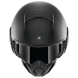 Casco de moto Shark Street Drak Blank Mat black, Cascos Jet