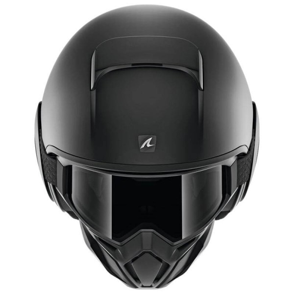 Casco de moto Shark Street Drak Blank Mat black