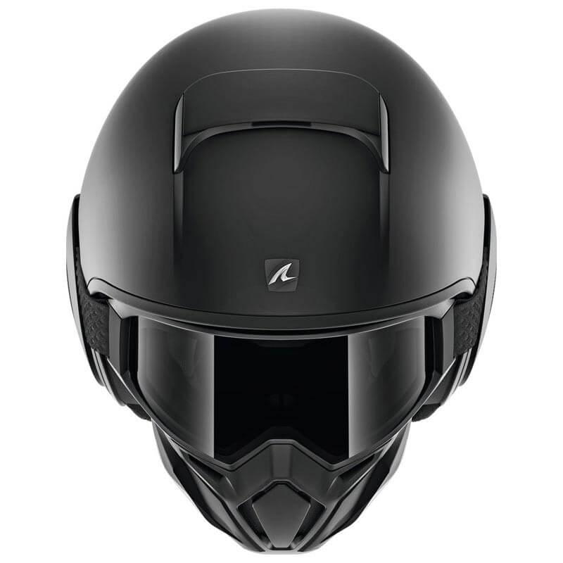 Shark DRAK Blank matt black open face urban motorcycle helmet all sizes