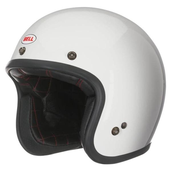Casque Moto Vintage BELL HELMETS Custom 500 White