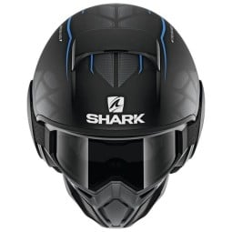 Casque Shark Street Drak Hurok Mat black blue