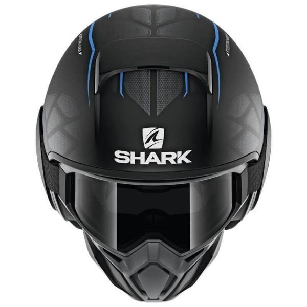 Casque Shark Street Drak Hurok Mat black blue