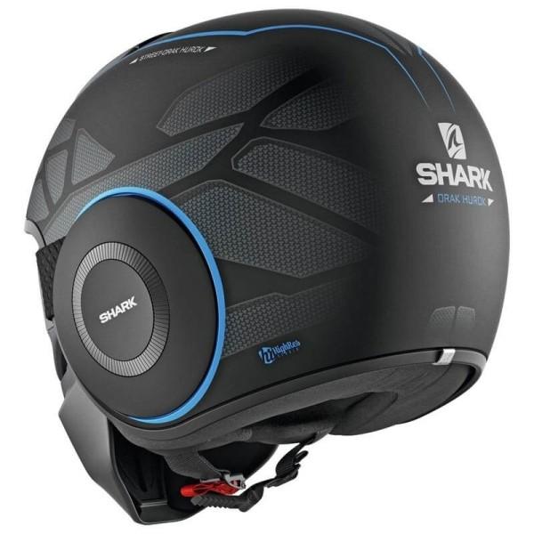 Shark helmet Street Drak Hurok Mat black blue