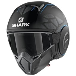 Shark helm Street Drak Hurok Mat black blue