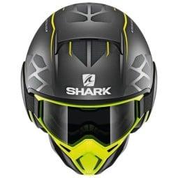 Shark helm Street Drak Hurok Mat black yellow