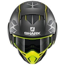 Shark helmet Street Drak Hurok Mat black yellow ,Jet Helmets